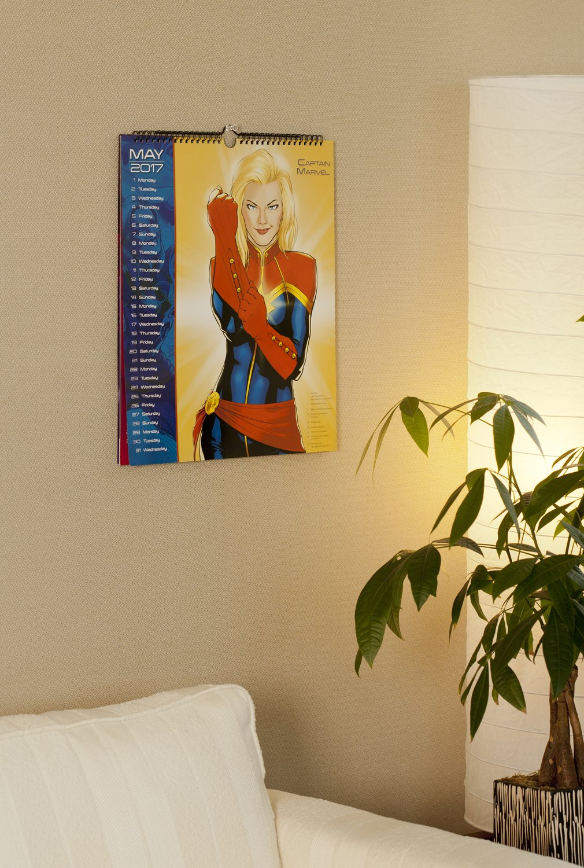 Women of Marvel Wall Calendar (2017): Day Dream: 0038576518971 ...