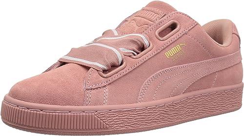 Suede Heart Satin Wn Sneaker
