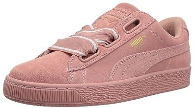 a8bfa85a550dc8 PUMA Women s Suede Heart Satin Wn Sneaker