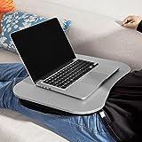 """SoBuy® Cojín del ordenador portátil, soporte para el ordenador portátil, tableta cojín portátil, 17"""", FBT28-SIL, ES"""