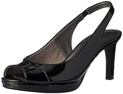LifeStride Women's Invest Dress Sandal, Black, ...