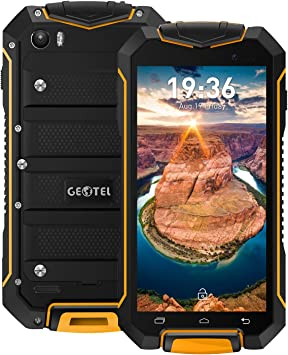 Geotel A1-3G Smartphone Libre (Android 7.0, 4.5