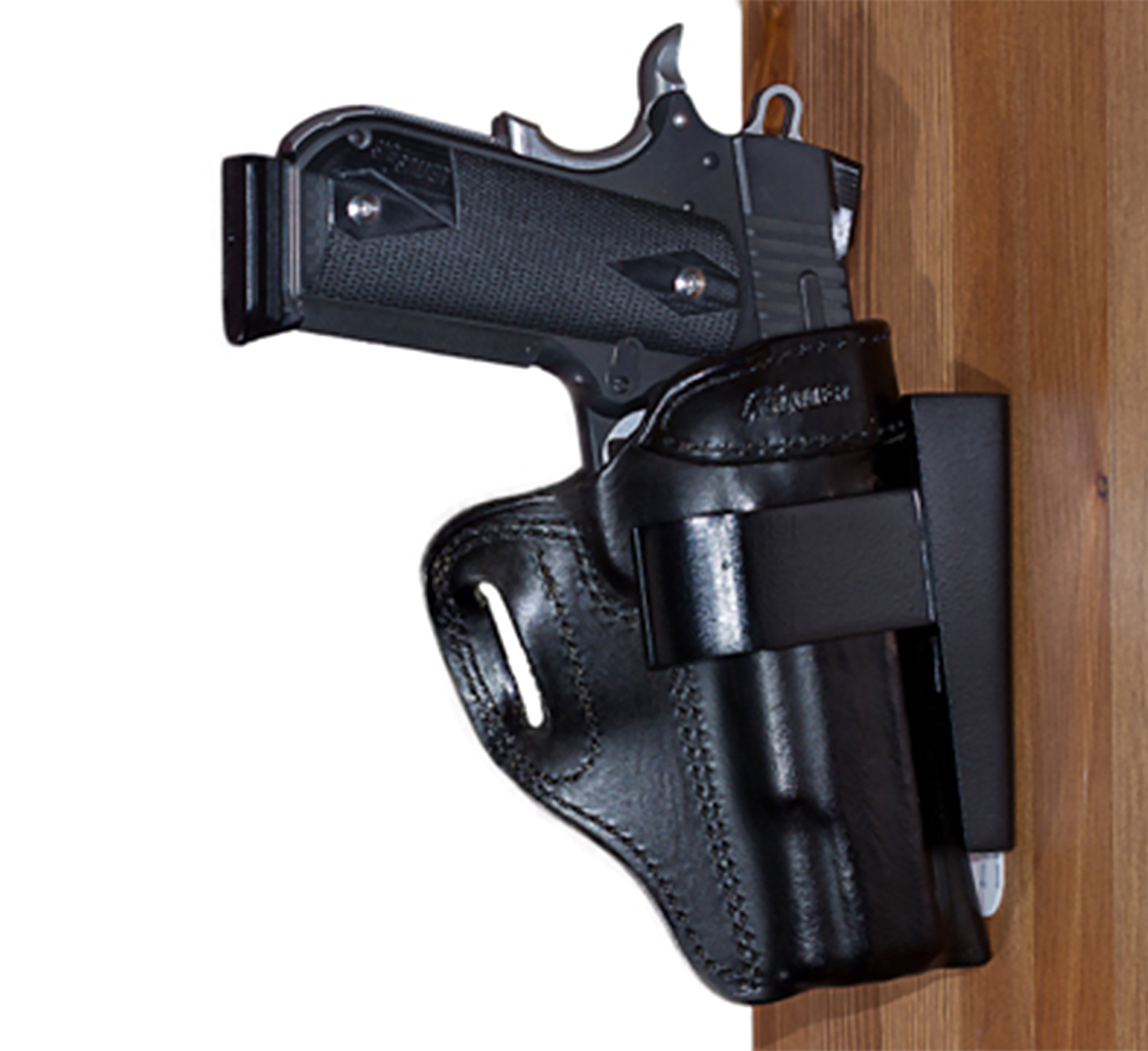 By My Side Holster Standard Holster Rest for Vehicle, Under Desk or Bedside by By My Side Holster®