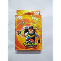 VedantaMultiStore UNO Pokemon Go Playing Card Game