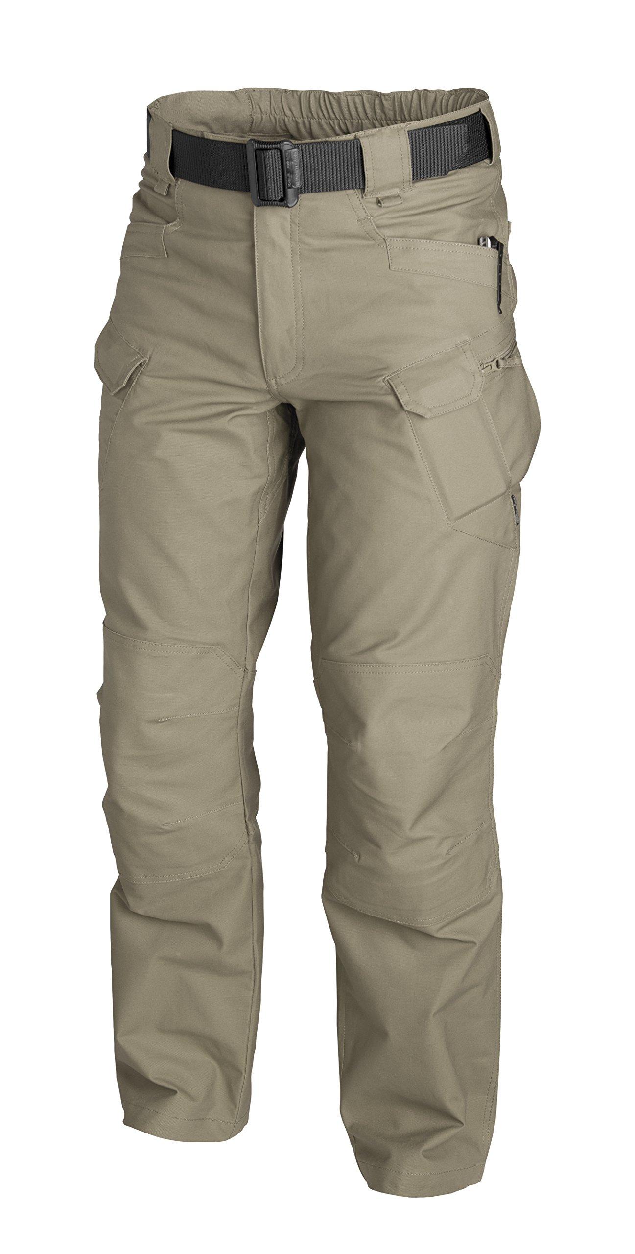 HELIKON-TEX Urban Line, UTP Urban Tactical Pants Ripstop Khaki, Military Ripstop Cargo Style, Men's Waist 38 Length 32 by HELIKON-TEX (Image #3)