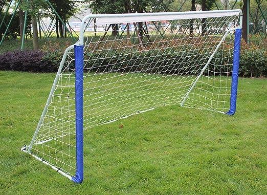 Giow Portería de fútbol portátil de 8 pies Jardín al Aire Libre ...