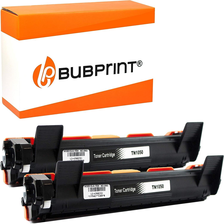 2 Bubprint Xxl Toner Cartridges Compatible With Brother Tn 1050 For Dcp 1510 Dcp 1510e Dcp 1512 Dcp 1512e Dcp 1610w Dcp 1612w Hl 1110 Hl 1110e Hl 1112 Hl 1210w Hl 1211w Hl 1212w Mfc 1810 Mfc 1910w Black Bürobedarf Schreibwaren