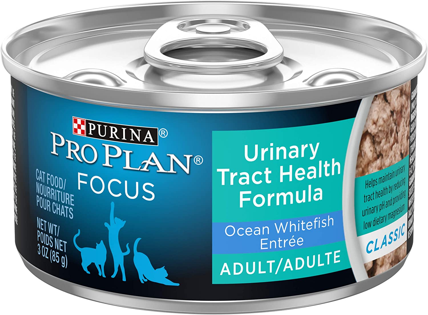 Purina Pro Plan Urinary Tract Health, High Protein Adult Dry Cat Food & Wet Cat Food (Packaging May Vary)