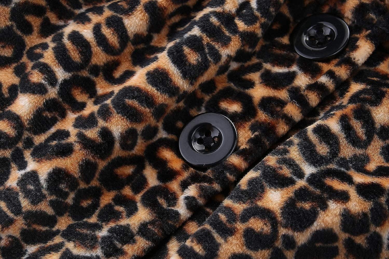UWESPRING Baby Girls Dress Coat Faux Fur Button