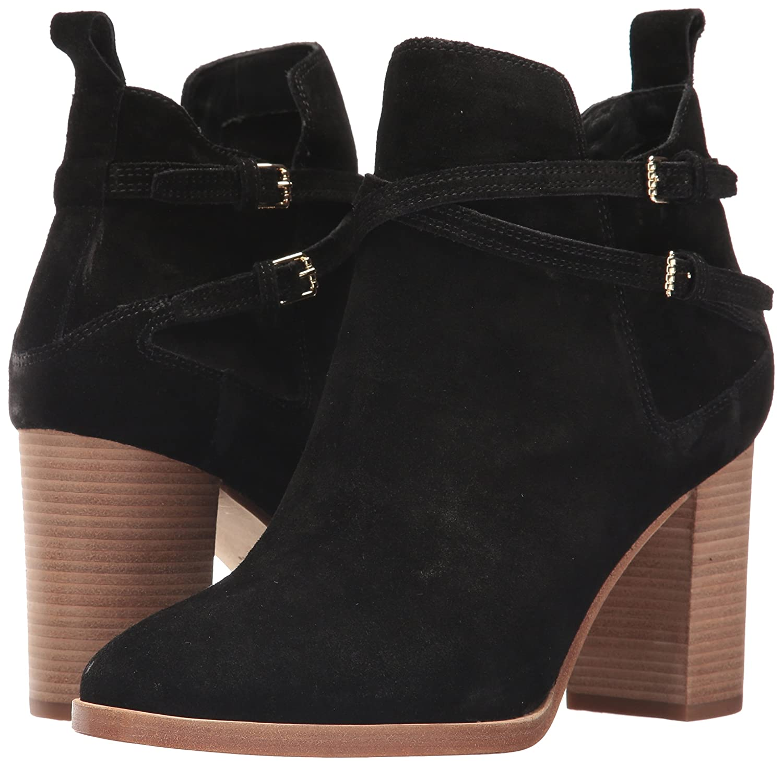 Cole Haan Women's Linnie Bootie Ankle Boot B01MRBKX3M 6.5 B(M) US|Black Suede