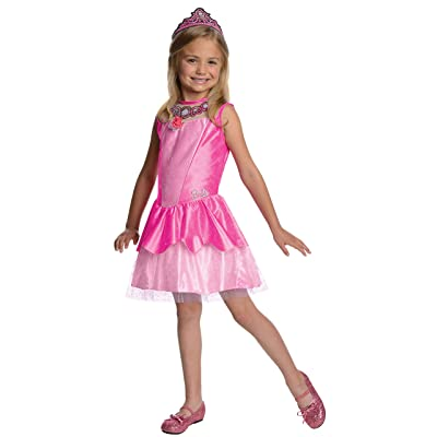 Barbie in The Pink Shoes Halloween Sensations Kristyn Costume, Small: Toys & Games
