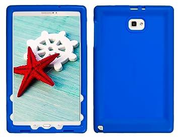 BobjGear Carcasa Resistente para Tablet Samsung Galaxy Tab A 10.1 with S Pen, SM-P580, SM-P585 - Bobj Funda Protectora (Azul)