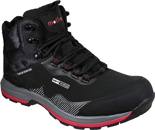 Outdoor zapatos zapatillas deportivas botín de senderisml trekking zapatos Outdoor negro softshell