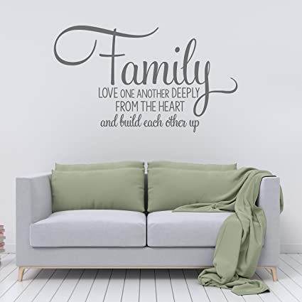 Amazon.com: Dozili Family Wall Quote Sticker, Motivational ...