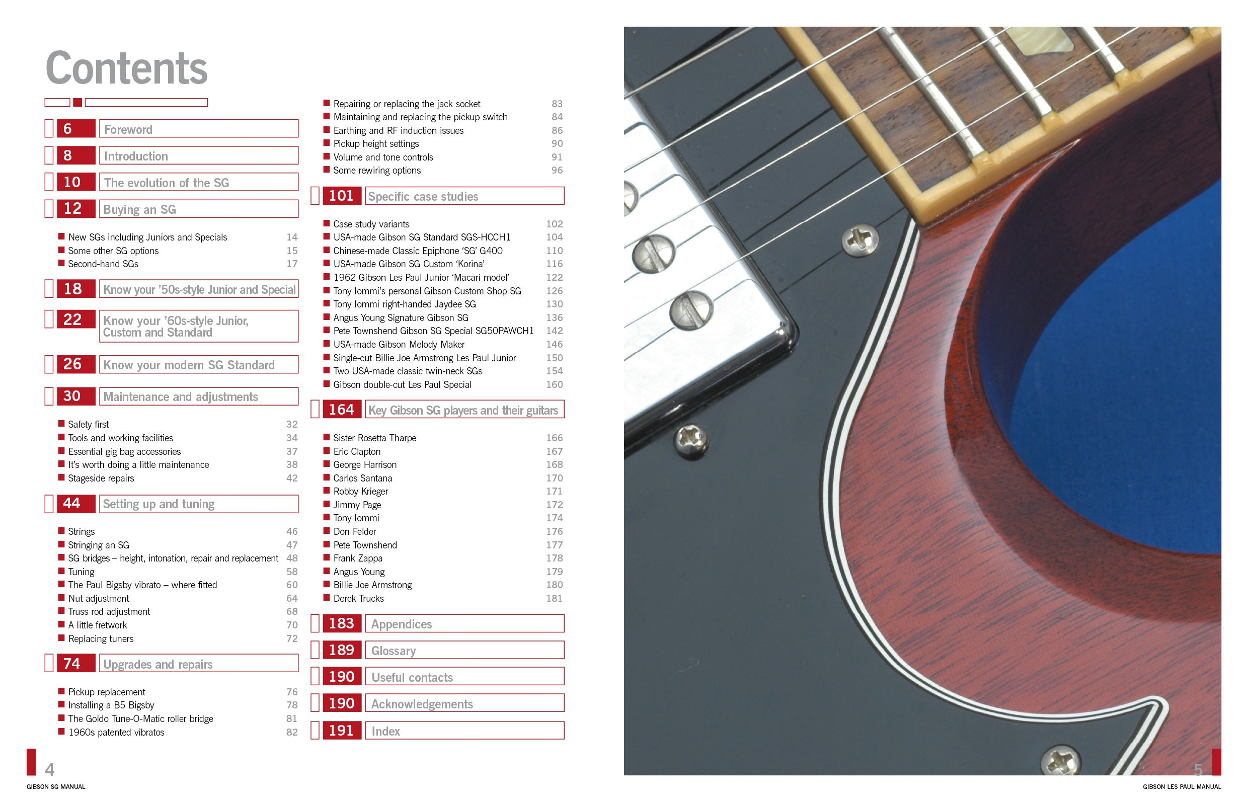 gibson sg manual includes junior special melody maker and