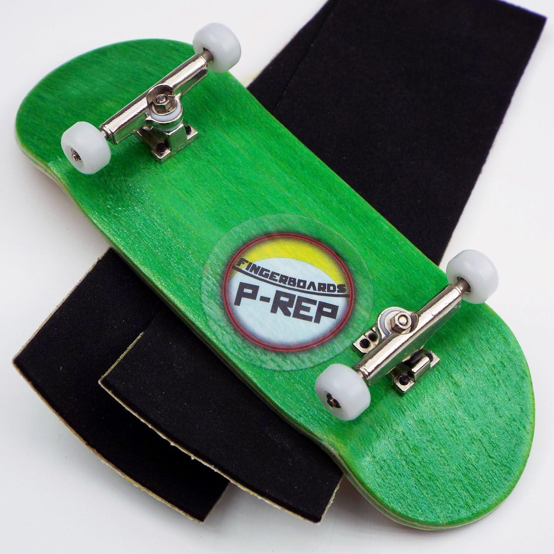 Green P-REP Starter Complete Wooden Fingerboard 30mm x 100mm