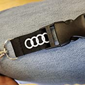 Audi Keychain Lanyard Badge Holder