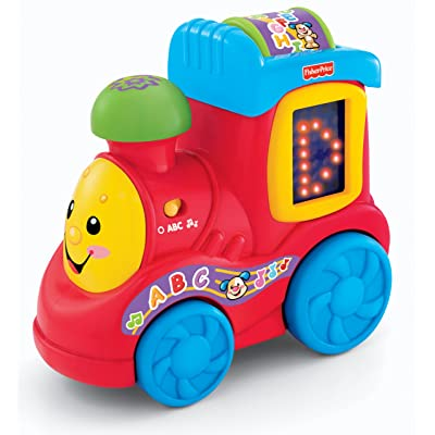 Fisher-Price Laugh & Learn ABC Train: Toys & Games
