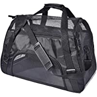 PPOGOO Large Pet Travel Carriers 20.9x10.2x12.6 22lb(10KG) Soft Sided Portable Bags Dogs Cats…
