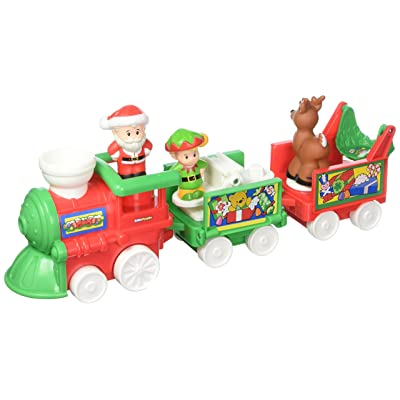Fisher-Price Little People Musical Christmas Train: Toys & Games