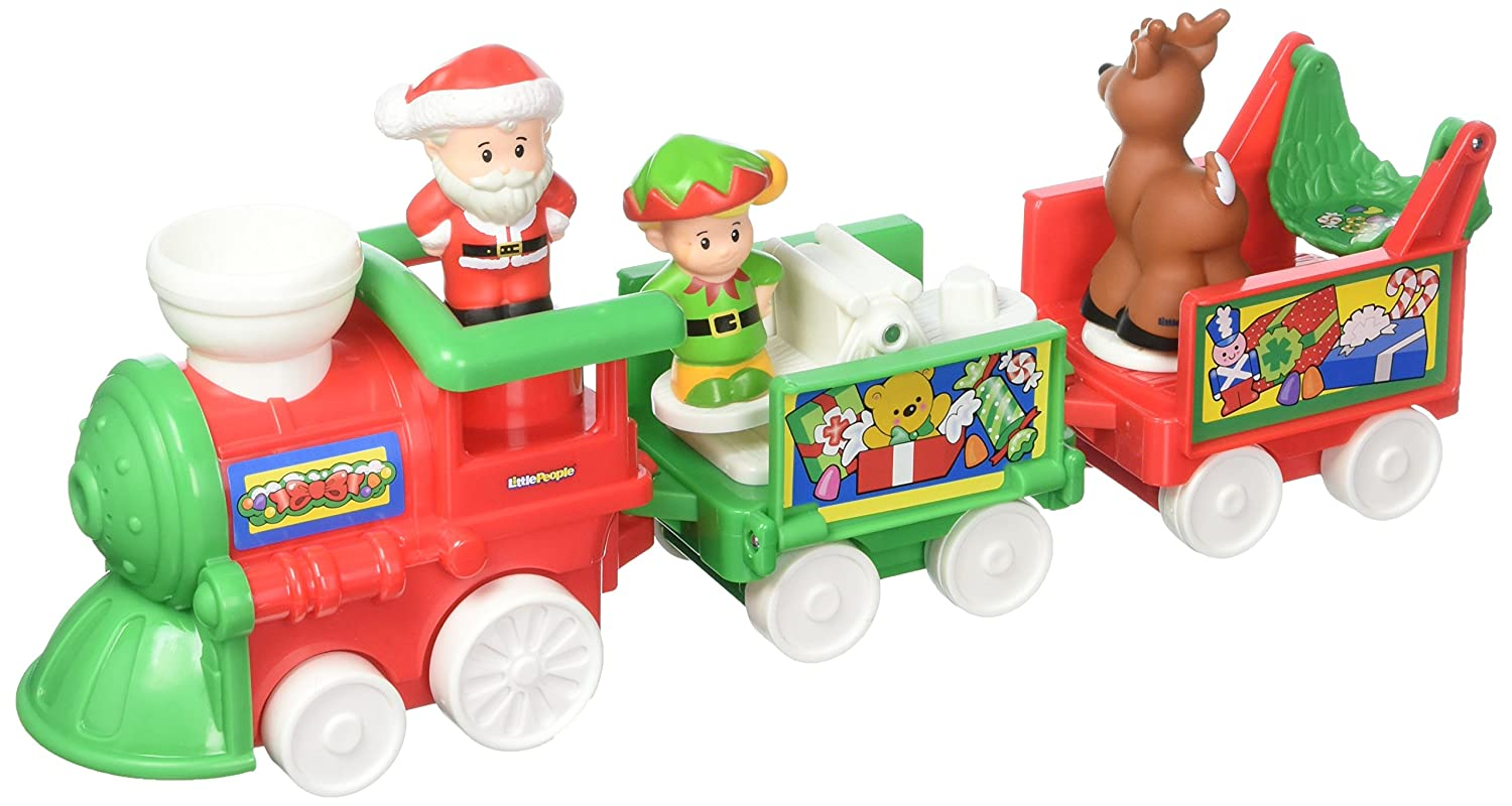 100% garantía genuina de contador Fisher-Price Little People People People Musical Christmas Train(US Version imported by uShopMall U.S.A.)  envio rapido a ti