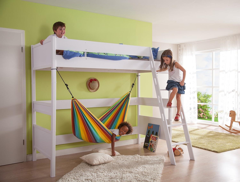 amazon    la siesta iri rainbow   cotton kids hammock  garden  u0026 outdoor amazon    la siesta iri rainbow   cotton kids hammock  garden      rh   amazon