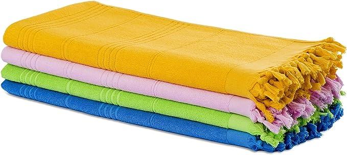 serviette de sauna Pestemal hamam double rose 100 /% coton 430 gr serviette serviette de plage Drap de plage Tissu /éponge Carenesse Serviette de bain Fouta 90*190 cm