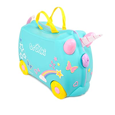 Trunki Girls, Una Unicorn (Turquoise) | Kids' Luggage