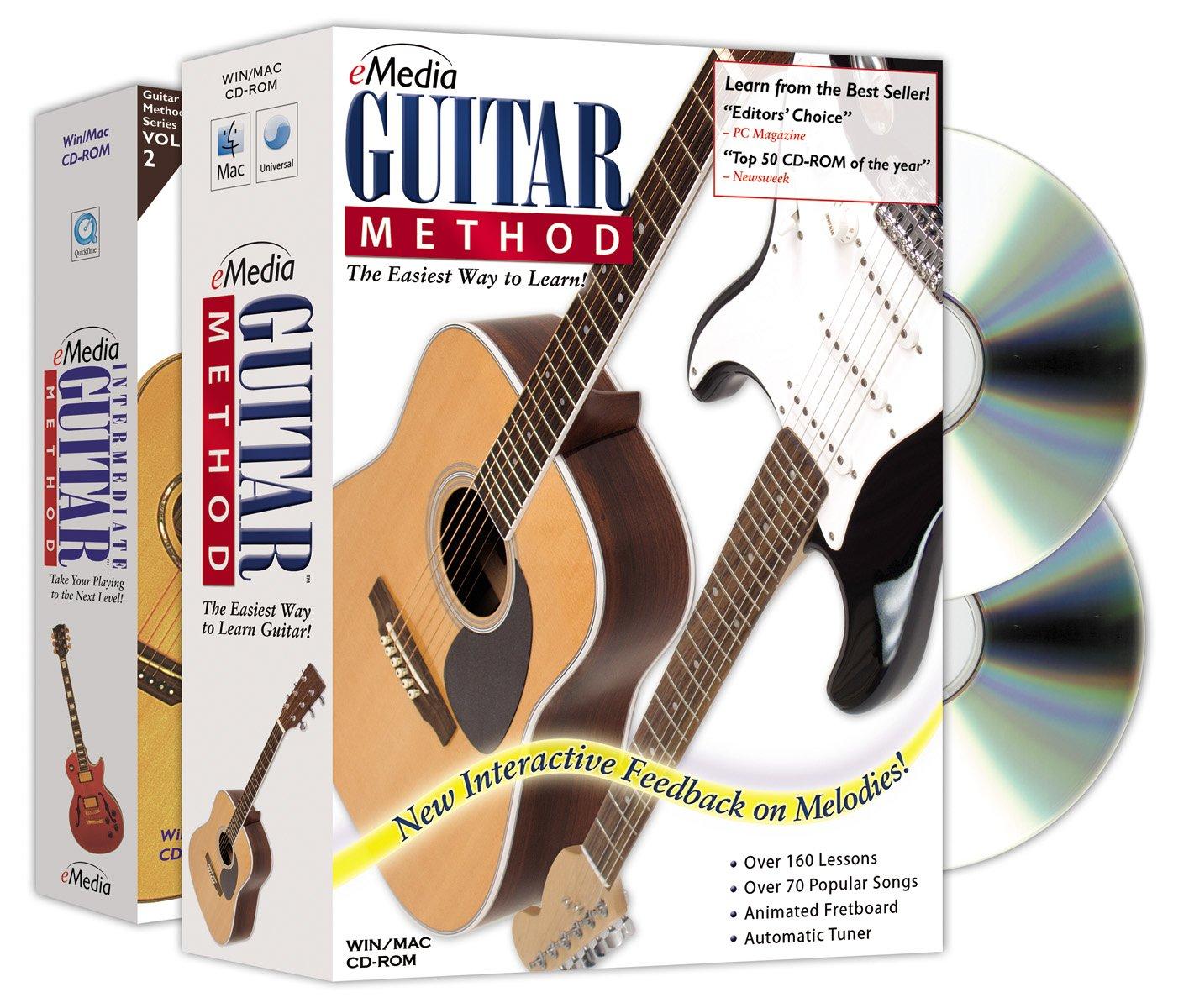 eMedia Guitar Method Deluxe [Old Version, v5] EG10101 AmzRecEq02019