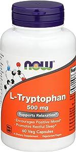 L Tryptophan 500mg 60 Vcaps
