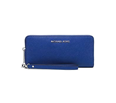23f44ee9573b Michael Kors Jet Set Travel Leather Continental Wallet - Dark Dune: Amazon. in: Shoes & Handbags