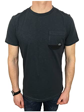 e6f3fe2d Superdry Mens Surplus Goods Pocket Tee T-Shirt in Grenadier Grey 3XL ...
