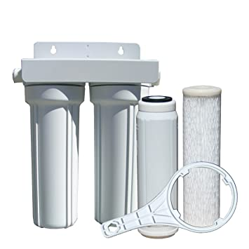 Amazoncom Watts 520022 RVBoat Duo Exterior Water Filter with