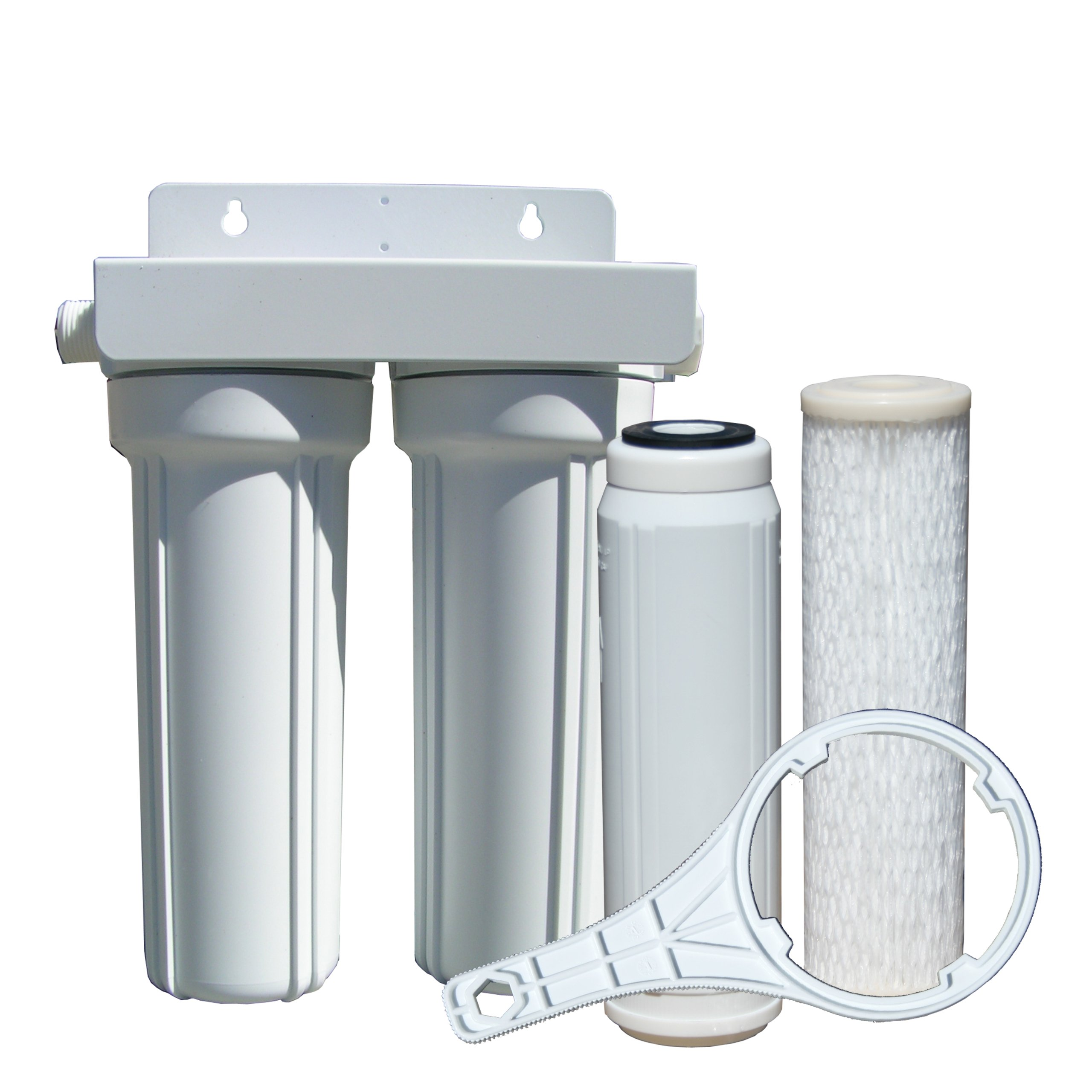 Watts 520022 RV/Boat Duo Exterior Water Filter with Garden Hose Fittings