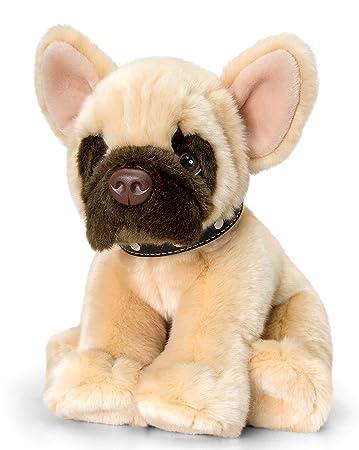 Lashuma Plüschtier Hund Signature Puppies französische Bulldogge, Kuscheltier sitzend ca. 35 cm