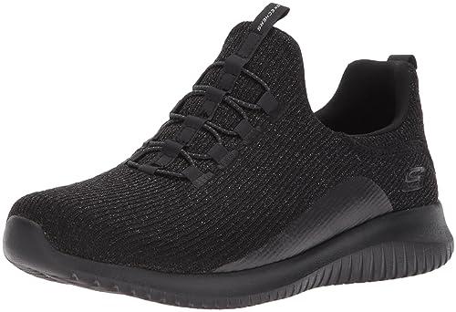 b64403eabf9 SKECHERS BBK Black Scarpa Donna Sportiva 12830: Amazon.es: Zapatos y  complementos