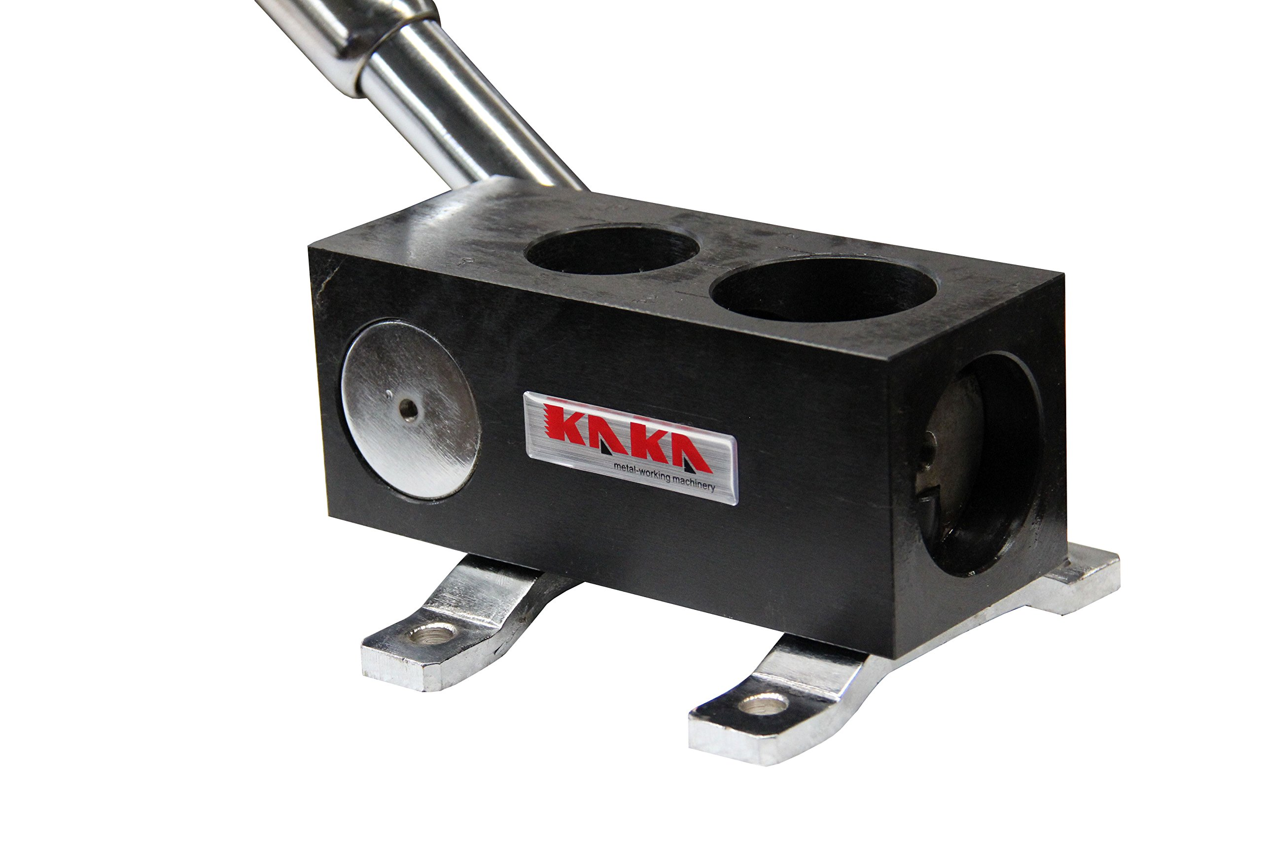 KAKA Industrial RA-3 Manual Tube Notcher, 1-1/2'', 2'' Light Weight, Solid Construction Tubing Notcher