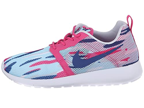855c61df5f994 NIKE Girls' Grade School Roshe One Flight Weight Casual Shoes 705486-401  Size 6Y
