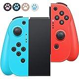 Mandos para Nintendo Switch,Timoom Bluetooth Wireless Controller Gamepad Joystick Controlador De Reemplazo Izquierdo Y…