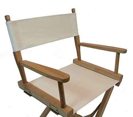 Replacement Cover Canvas For Directors Chair (Round Stick) (Natural)