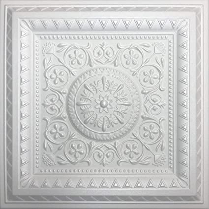 Amazon Com White Styrofoam Ceiling Tile Magic Case Of 40