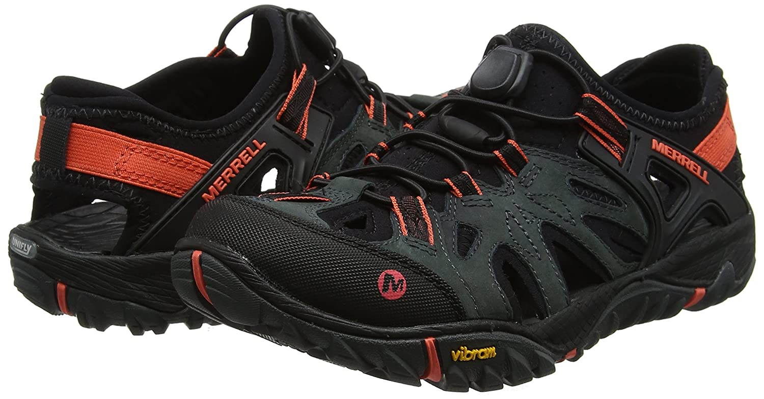 Merrell Women's All Out Blaze Sieve Water Shoe B07847GMSY 6.5 B(M) US|Dark Slate