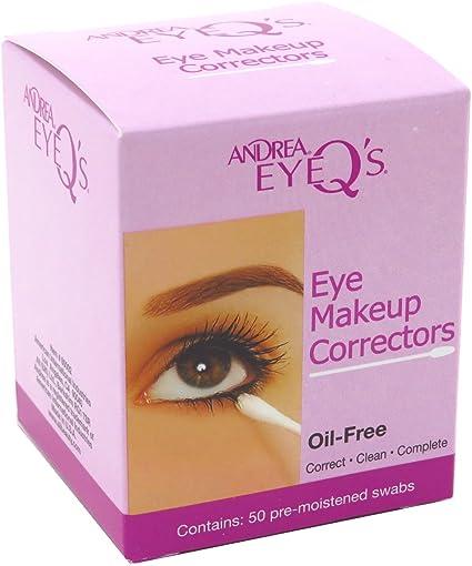 Andrea Eye QS Eye Make-Up Correctors Swabs 50S (2 Pack) by Andrea: Amazon.es: Belleza