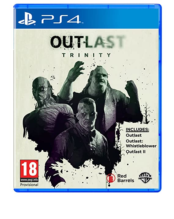 Outlast Trinity (PS4): Amazon co uk: PC & Video Games
