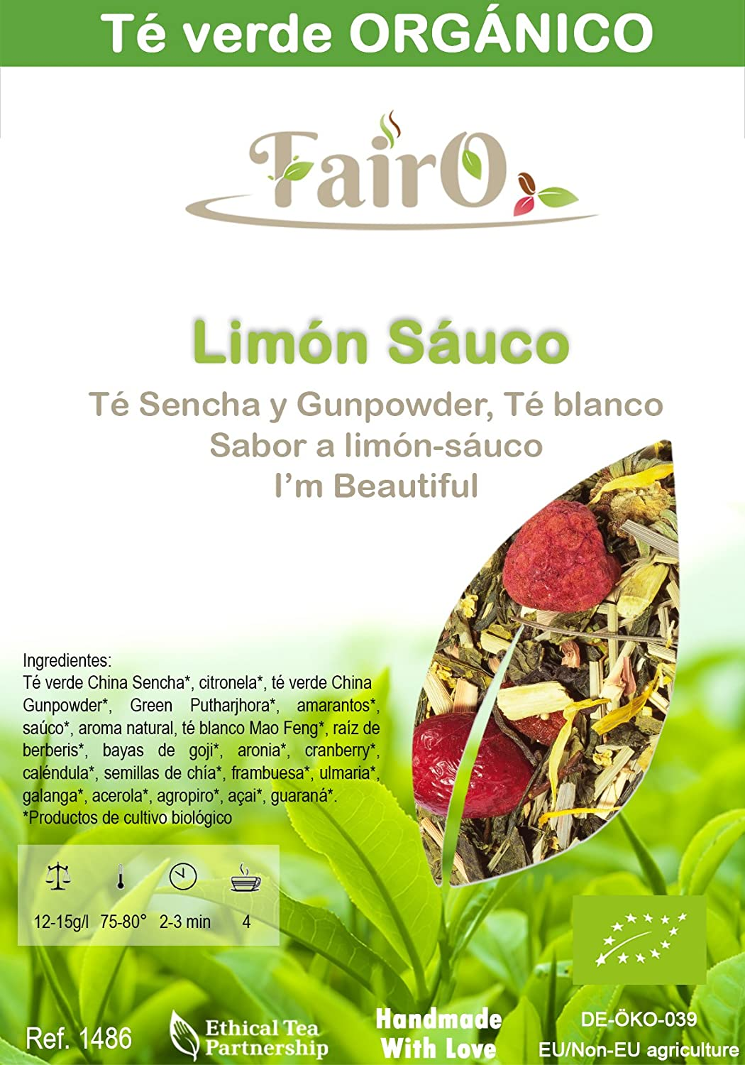 Fairo - Im Beautiful ORGÁNICO - 250 gr: Amazon.es ...