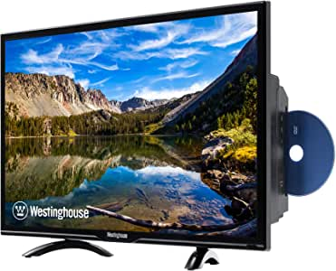 """Westinghouse 32"""" LED HD DVD Combo TV for Kid's Rooms, RV Camping TV, Kitchens or Offices (Renewed)"""
