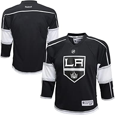 Los Angeles Kings Blank Black NHL Youth Home Reebok Replica Home Jersey ( Youth Small  d3202386d