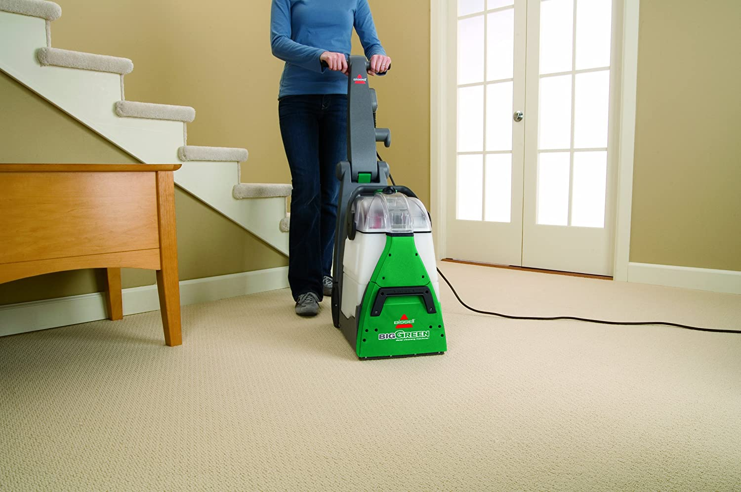 Cleaning wool rugs and carpets