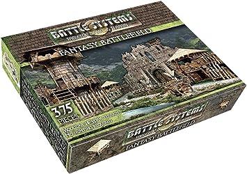 Multi Level Tabletop Fantasy Battle Systems Wargames Terrain Battlefield