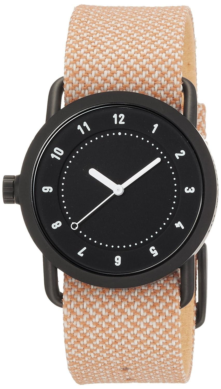 [ティッド ウォッチ]TID watches 腕時計 Kvadratコラボ 引き通し TID01-36TW BLACK/SALMON 【正規輸入品】 B002YT1IAQ